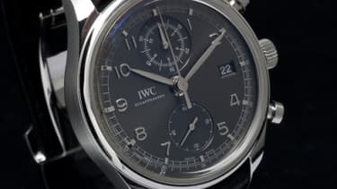 La famille des IWC Portugaise s'enrichit d'une montre chronographe