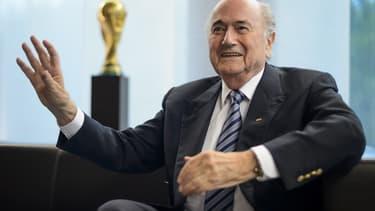 Sepp Blatter, le président de la Fifa.