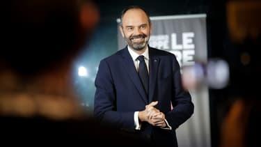 Edouard Philippe au Havre le 20 février 2020.