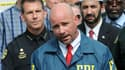Ron Hopper, un responsable du FBI, lors d'une conférence de presse le 12 juin 2016 à Orlando, en Floride.