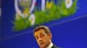"""L'inquiétude sur la crise grecque monte jeudi en France où Nicolas Sarkozy, à la tribune d'une conférence d'organisations agricoles à l'OCDE, a lancé un appel à l'esprit de responsabilité et à """"l'unité"""" des Européens pour trouver un compromis sur le nouve"""