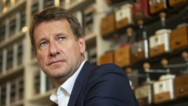 Le député européen EELV Yannick Jadot en septembre 2019 à Lyon