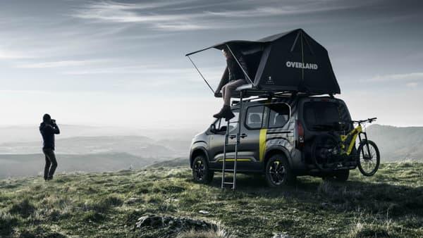 Peugeot pourrait sortir une version dérivée de ce concept.