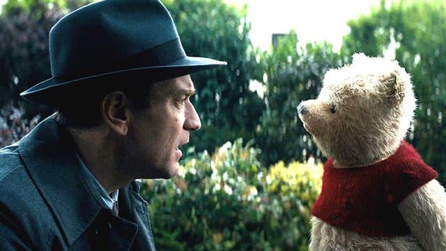 "Ewan McGregor dans le film ""Christopher Robin""."