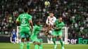 Le match ASSE-Losc, à Saint-Étienne le 21 août 2021