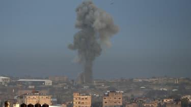 Illustration - Une explosion dans la bande de Gaza