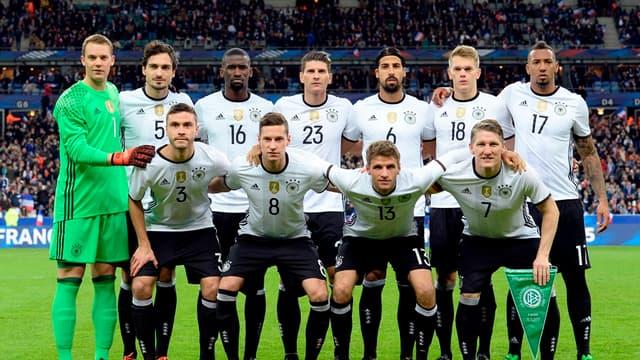 L'équipe d'Allemagne, championne du monde en titre