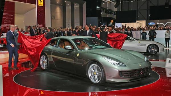 Ferrari a dévoilé sa nouvelle familiale au salon de Genève.