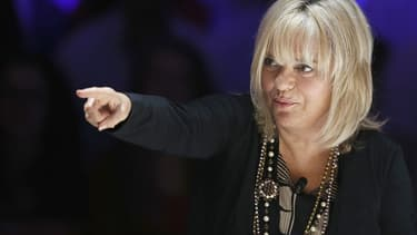 "France Gall en 2012 sur le plateau du ""Grand Journal""."