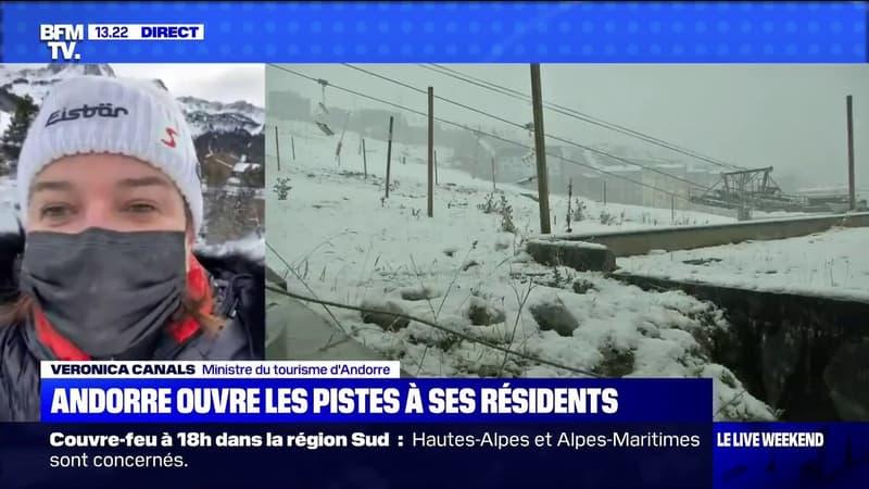 Veronica Canals (ministre du tourisme d'Andorre):