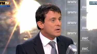 Manuel Valls était l'invité de Jean-Jacques Bourdin, sur BFMTV et RMC, ce mercredi 14 novembre.