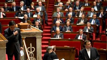 Les députés français ont achevé mercredi à l'aube l'examen de la réforme des retraites dans une atmosphère houleuse qui laisse présager des débats difficiles lors du passage du projet de loi au Sénat. /Photo d'archives/REUTERS/Philippe Wojazer