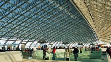 Le terminal 2 de l'aéroport Charles De Gaulle, devant lequel un rassemblement est prévu le 7 juin.