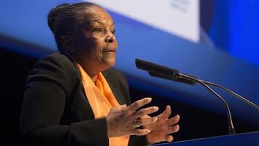 Christiane Taubira a évoqué son expérience du racisme, ce vendredi, lors d'un déplacement aux Nations unies, à Genève.