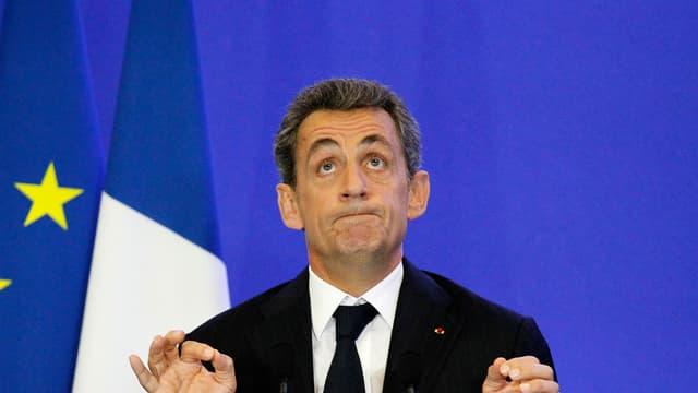 Nicolas Sarkozy, le 3 novembre.