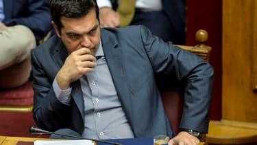 Les mesures prises par Alexis Tsipras pour éviter une panique bancaire ont contribué à la forte baisse du PIB au 3ème trimestre.
