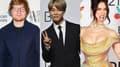 Ed Sheeran, Jimin de BTS et Dua Lipa