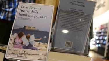 L'édition italienne de L'Amie prodigieuse d'Elena Ferrante