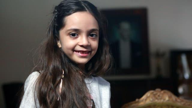Bana Al-Abed le 22 décembre 2016 lors d'une interview à Ankara.