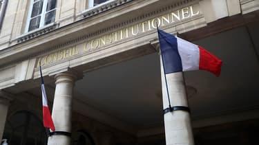 Le fronton du Conseil constitutionnel (illustration)