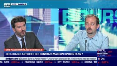 Julien Bouyssou (Magazine Capital) : déblocages anticipés des contrats Madelin sont-ils un bon plan ? - 21/09