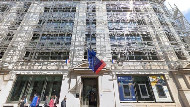 Le ministère de la Culture, à Paris.