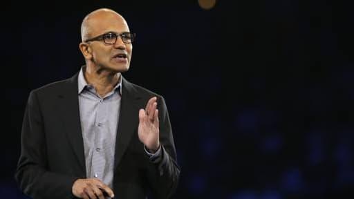 Satya Nadella, le patron de Microsoft.