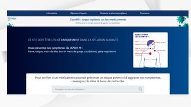 Le site Covid19-medicaments.com