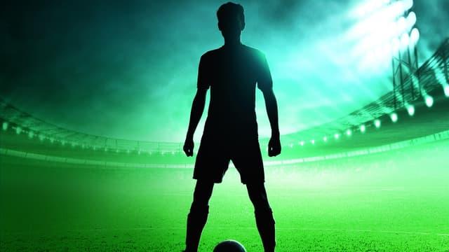 """La couverture du livre """"Je suis un footballeur masqué""""."""