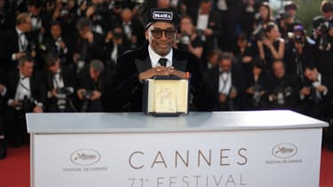 "Spike Lee a remporté le Grand Prix à Cannes pour son film ""BlacKkKlansman"""