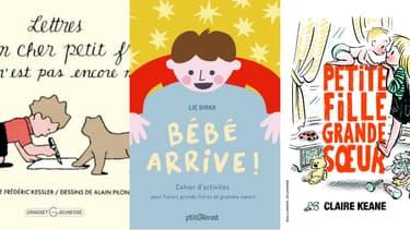 """""""Bébé arrive!"""": 3 livres pour enfants pour parler de petit frère, de petite soeur et de maternité"""