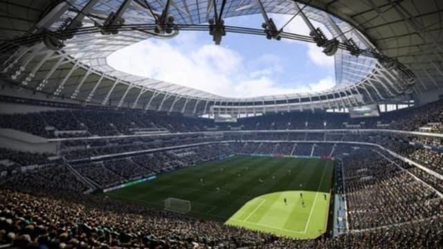 Le nouveau stade de Tottenham.