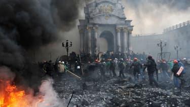 Ukraine, Kiev en février 2014