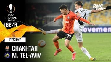 Résumé : Chakhtar (Q) 1-0 Maccabi Tel-Aviv - Ligue Europa 16e de finale retour