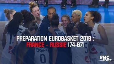 Résumé : France - Russie (74-67) – Prépa Eurobasket 2019