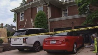 Les meurtres ont été commis dans un quartier cossu de Washington à proximité de la résidence du vice-président Joe Biden.
