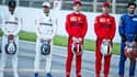 Hamilton, Bottas, Leclerc, Vettel, Sainz