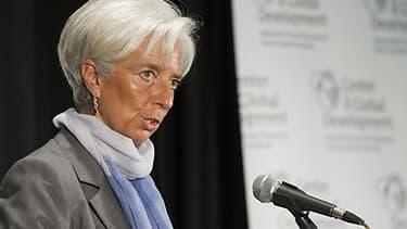 Christine Lagarde, ex-ministre de l'Economie, actuelle partronne du FMI.