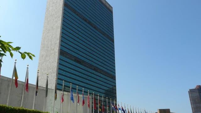 Le siège de l'ONU à Manhattan.