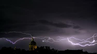 L'Est a été frappé par de violents orages dans la nuit de jeudi à vendredi. (Photo d'illustration)