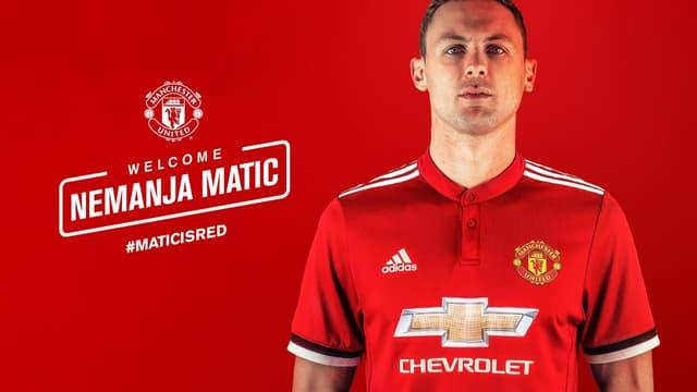 Nemanja Matic à Man Utd