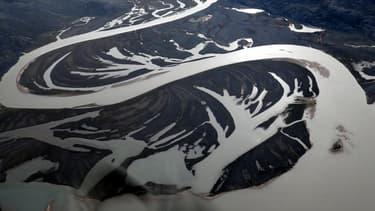 L'arctique vu du ciel