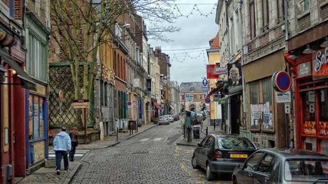 La rue du Gand, à Lille