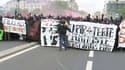 Black bloc à Paris.
