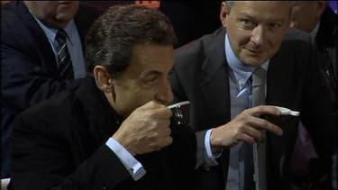 Nicolas Sarkozy de retour au Salon de l'agriculture