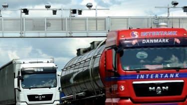 Les transporteurs routiers vont manifester ce 16 novembre contre l'écotaxe