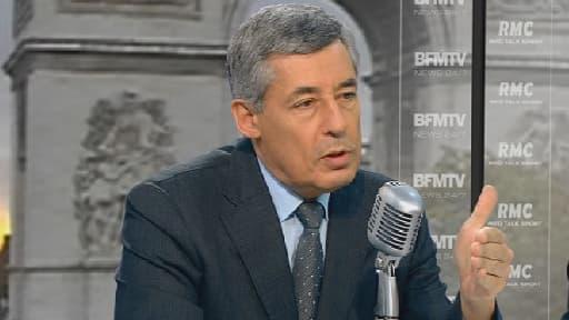 Henri Guaino, invité de Jean-Jacques Bourdin sur BFMTV/RMC, le 23 octobre 2013