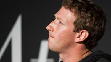 Marc Zuckerberg, le PDG de Facebook