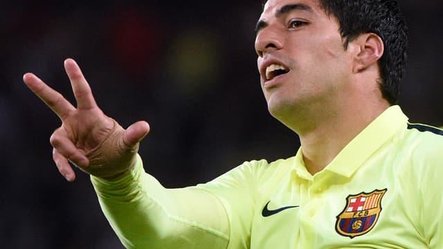 Luis Suarez : buteur, croqueur et… loveur