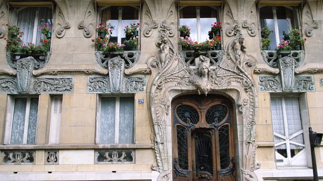 L'immeuble Lavirotte a été récompensé en 1901